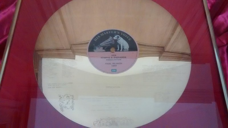 Nymphs and Shepherds Gold LP, 1989, Henry Watson Music Library