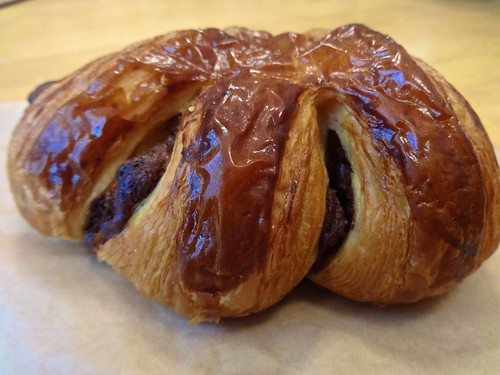 chocolate bear claw from Neighbor Bakehouse in Dogpatch San Francisco