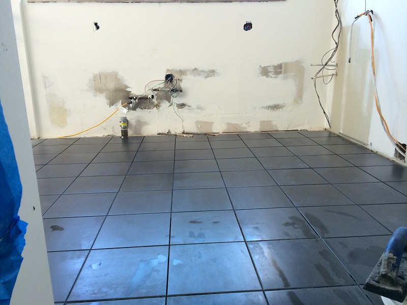 Kitchen Floor Renovation
