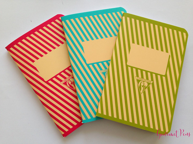 Review: Clairefontaine Back to Basics Bob Foundation Waves Notebook - Pink @NoteMaker