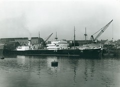 'Gomphina' and 'Hemsefjell' at Manor Quay, Sunderland