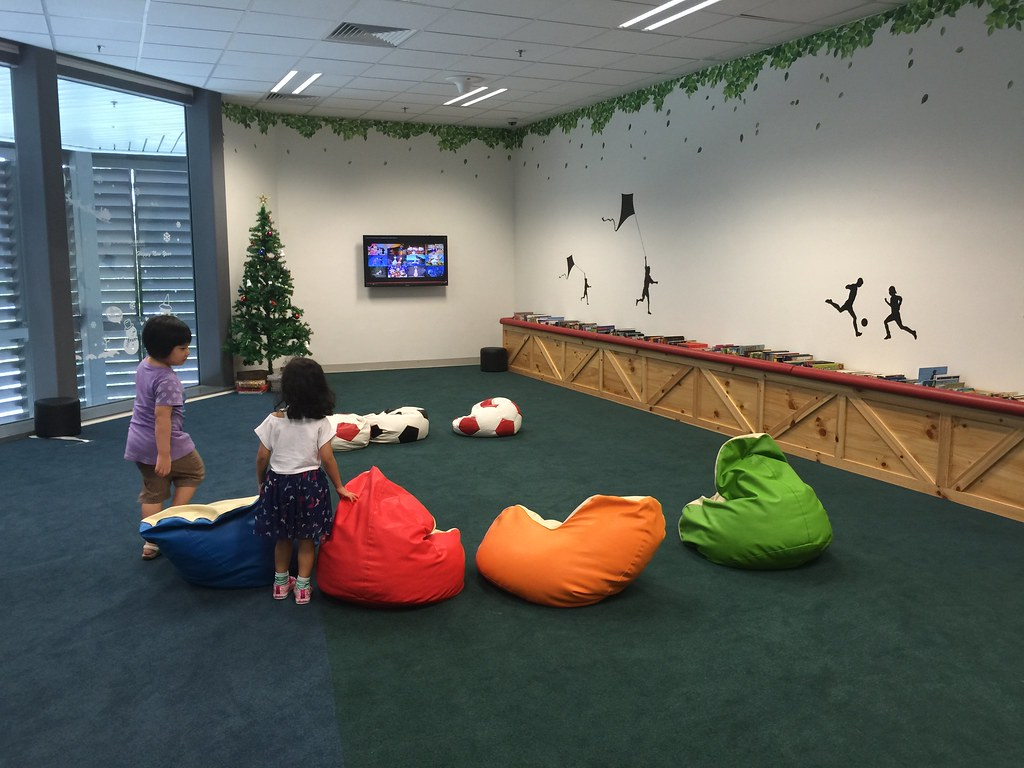 The Loving Mum - Singapore Sports Hub Libary