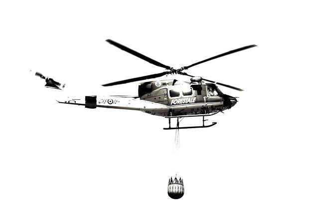 Elicottero Forestale : Elicottero forestale duotone flickr photo sharing