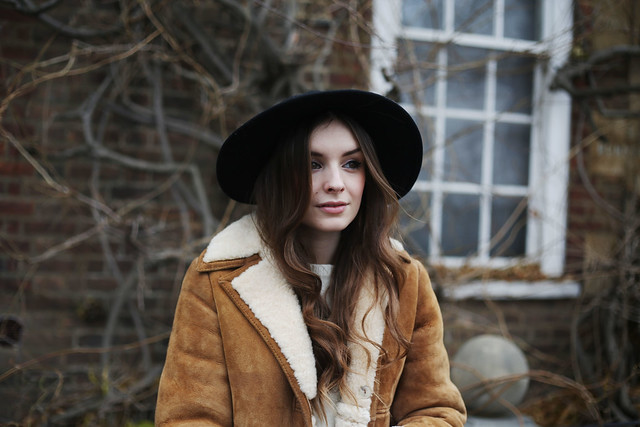 Sheepskin Jacket 70s What Olivia Did