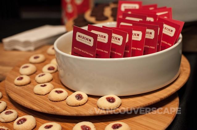 NextJen: gluten-free raspberry drops