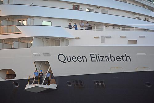 Queen Elizabeth detail