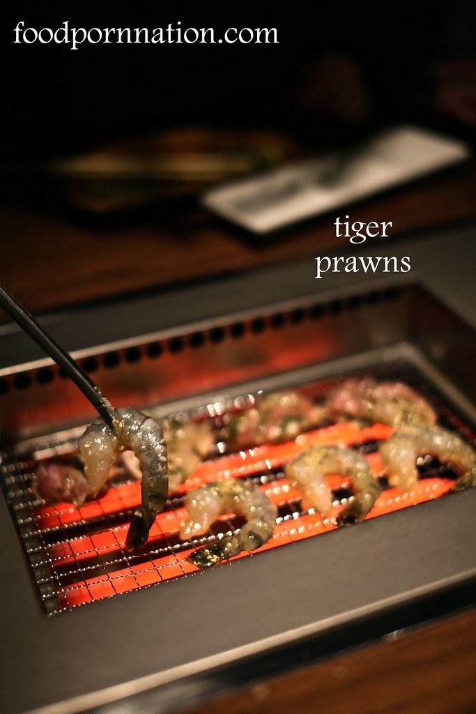 tiger prawns - Kintan, Holborn