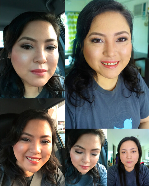 Make-up by Bea Almeda
