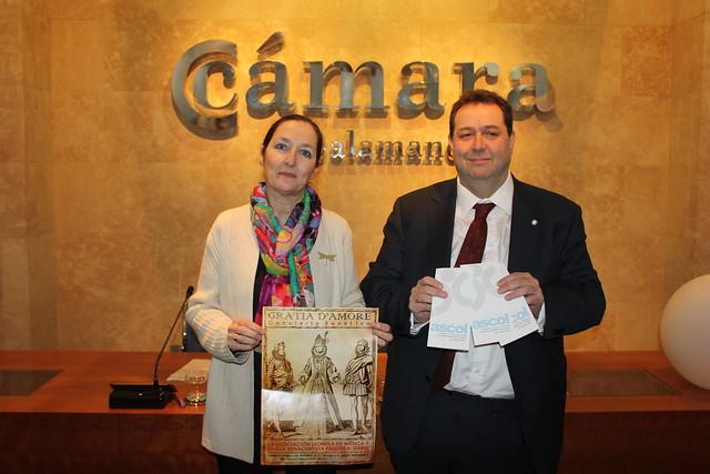 Instante de la presentación de la entrega del XV Premio al Comercio