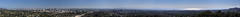 Los Angeles Panorama, 32000 pixels wide, annotated