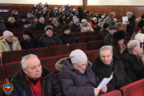 Конференция Светловодской городской организации Партии Пенсионеров Украины 28 января 2014 г. (4)