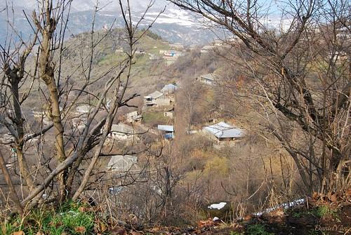 winter spring armenia ijevan tavush khashtarak