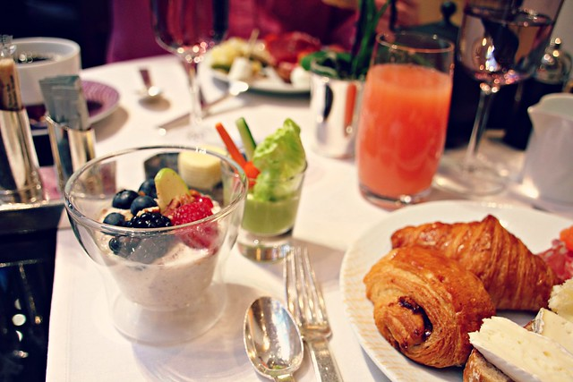 Park Hyatt Paris Vendome breakfast