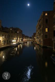 Moon in Venice