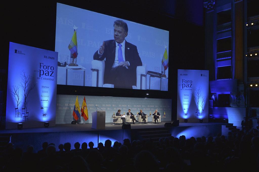 Foro por la Paz en Colombia - Madrid