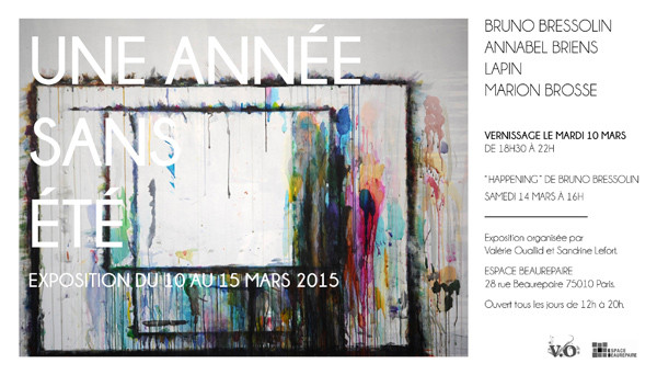 """""""une année sans été"""" exhibition in paris"""