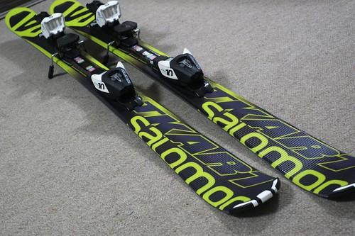 スキー新調