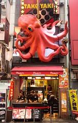 Takoyaki at Dōtonbori - Osaka, Japan