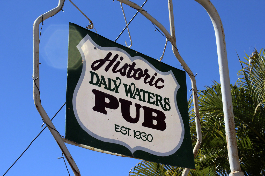 Daly Waters Pub i Northern Territory, Australien