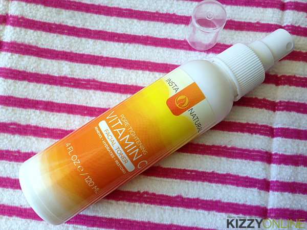 InstaNatural Pore Tightening Vitamin C Facial Toner review