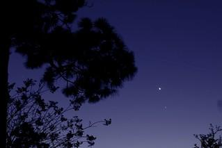 International Space Station flyby of Venus