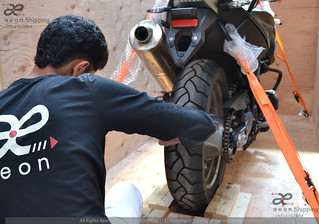 Motorbike Shipping to UK from Dubai UAE