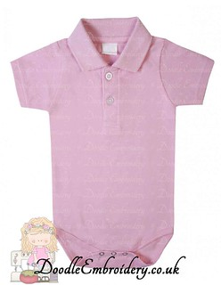 Polo Body Suit - Pink copy