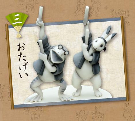 RE-MENT『現代版本』的「鳥獸戲畫」逗趣盒玩! いまどき鳥獣戯画
