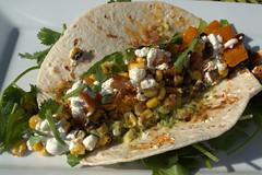 Ancho Squash & Guacamole Soft Corn Taco