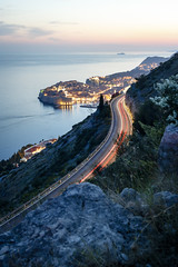 The road to Dubrovnik