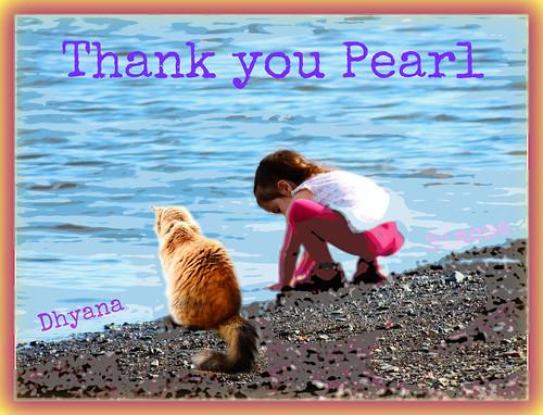 Thank you Pearl xxx Dhyana tu es mon bébé