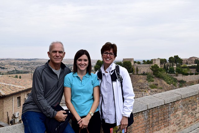 Exploring Toledo with parents!