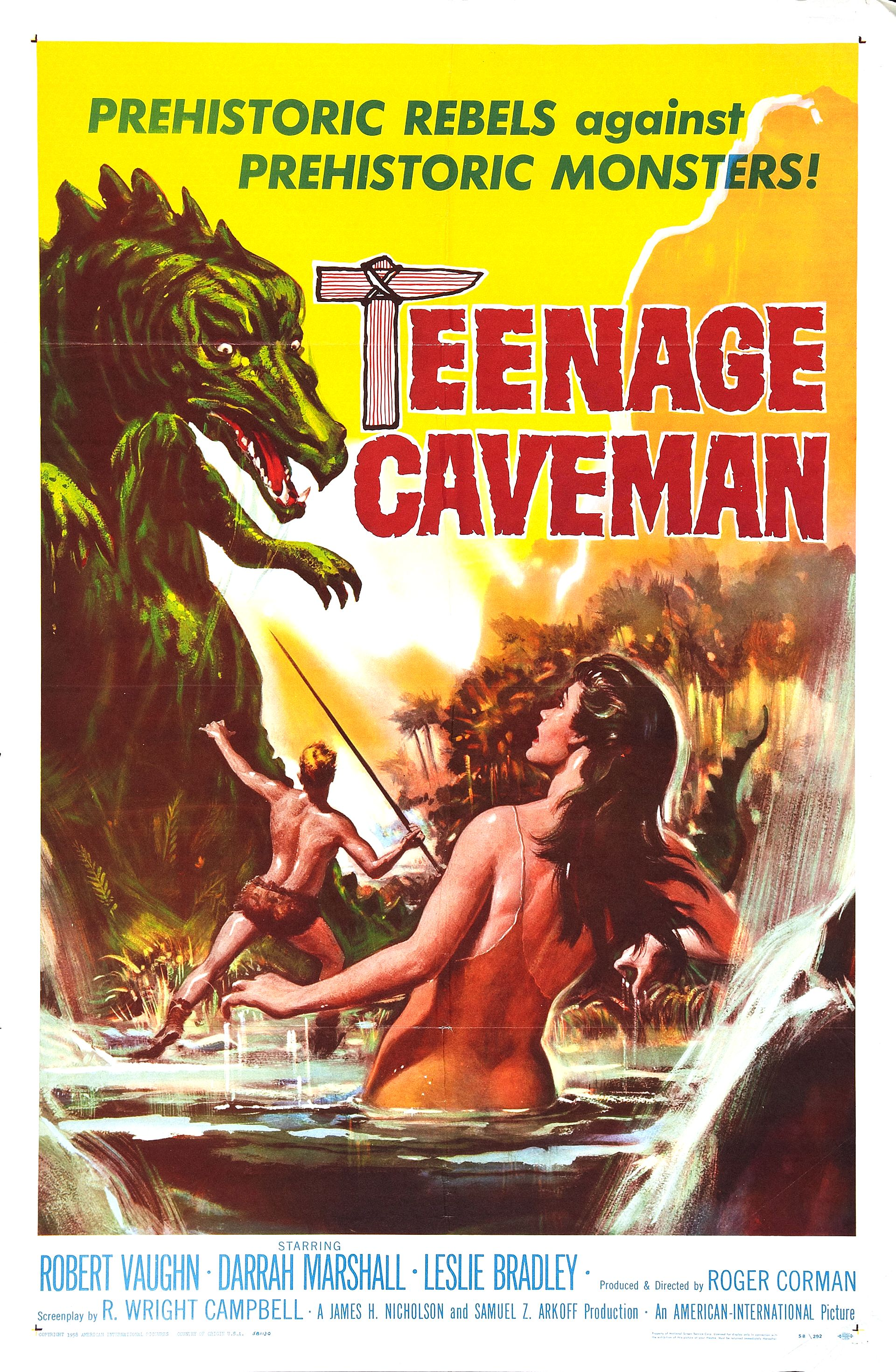 Teenage Caveman (1958)