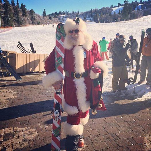 Santa at Snowbasin