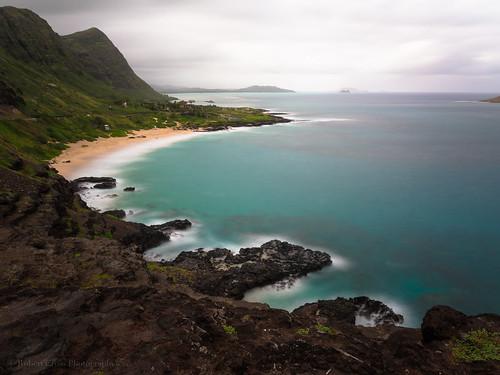 longexposure seascape storm mountains beach clouds landscape island hawaii surf oahu olympus pacificocean omd makapuu bodysurfing em5