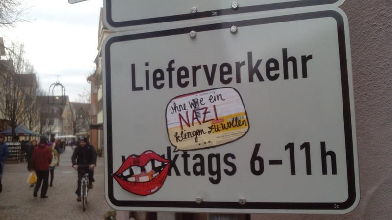 """""""ohne wie ein Nazi klingen zu wollen"""""""