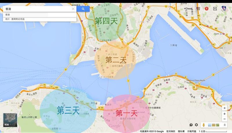 香港 - Google 地圖