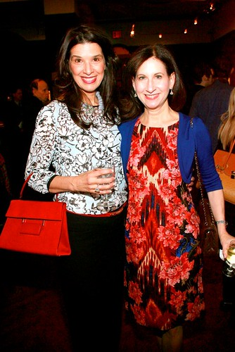 """Kathleen Giordano, Dr. Penny Grant==.The National Arts Club Celebrates the Opening of Francisco de Goya y Lucientes """"Los Caprichos""""==.The National Arts Club, 15 Gramercy Park South, NYC.==.January 8, 2015==.©Patrick Mcmullan==.photo-Sylvain Gabo"""