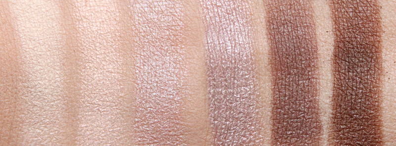 IsaDora Nude essentials eye color bar swatch