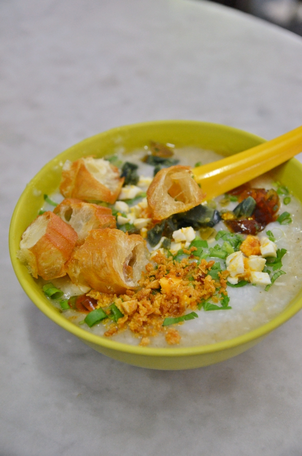 Fish and Chicken Porridge