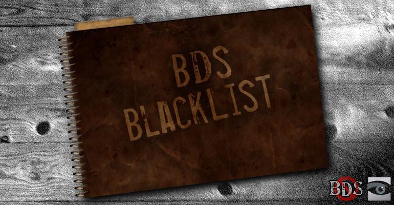 In BDS, B is For Blacklist, Not Boycott