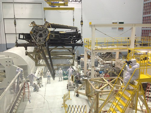 JWST Pathfinder Backplane Moves