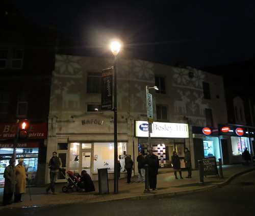 Bedminster Christmas light projections