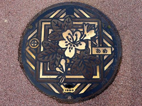 Kyotanabe Kyoto, manhole cover 4 (京都府京田辺市のマンホール4)
