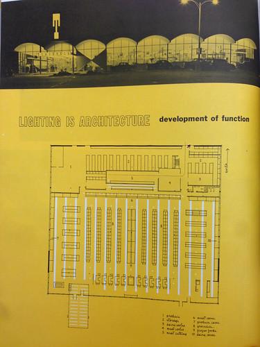 Burien Tradewell Floorplan, 1957