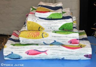 Cath Kidston fish towels