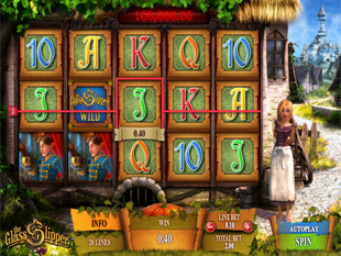 The Glass Slipper slot game online review