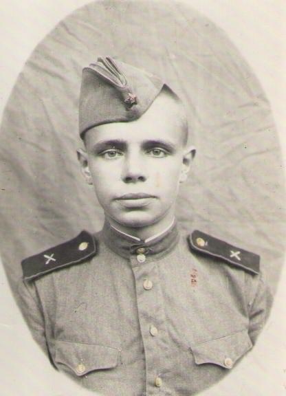 Папа солдат, ок. 1954г