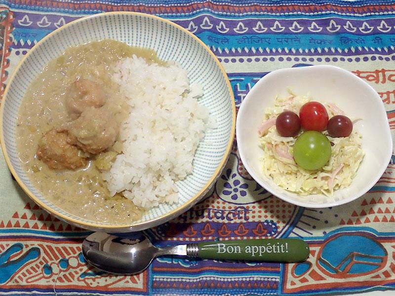 2015年2月23日の晩ご飯