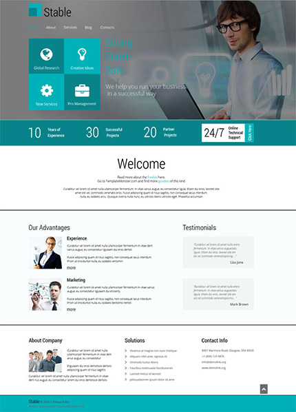Free Website Templates - Professional website templates